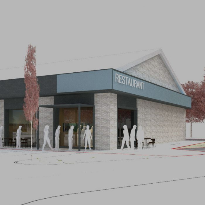 Clear Group, Proposed regeneration of Toscana Retail Park, Bangor