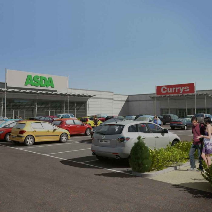 ASDA Stores Proposed new ASDA superstore, Crescent Link Retail Park, Derry