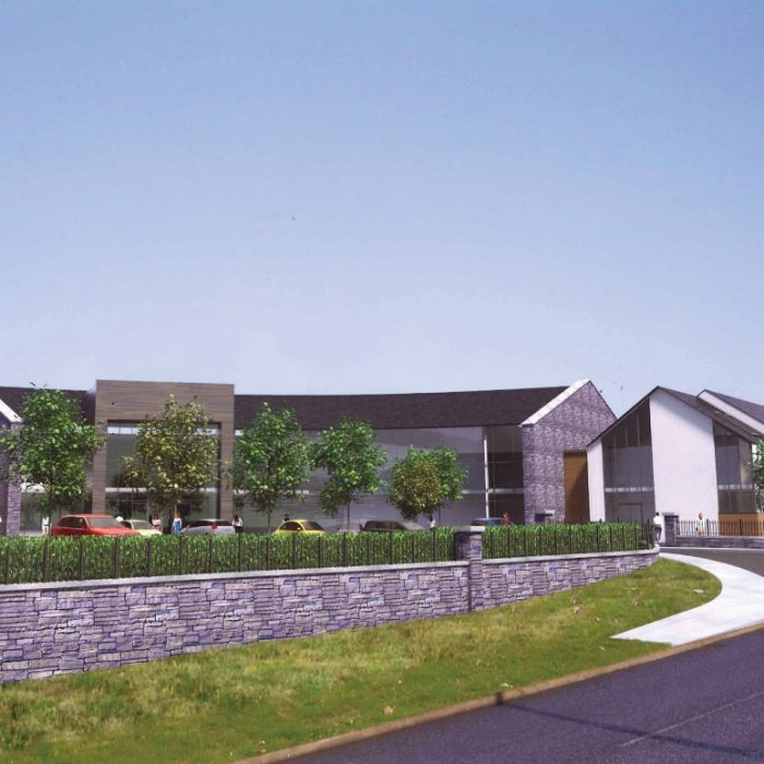 Proposed specialist Care Nursing Home, Antrim