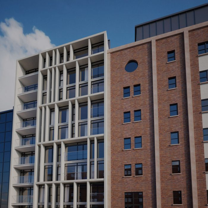 Fraser Homes, Proposed new 12 storey building comprising c.70 apartments, Chichester Street, Belfast