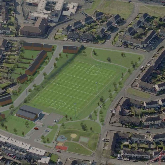 La Salle Secondary School, Belfast Proposed new playing field facilities and pavilion