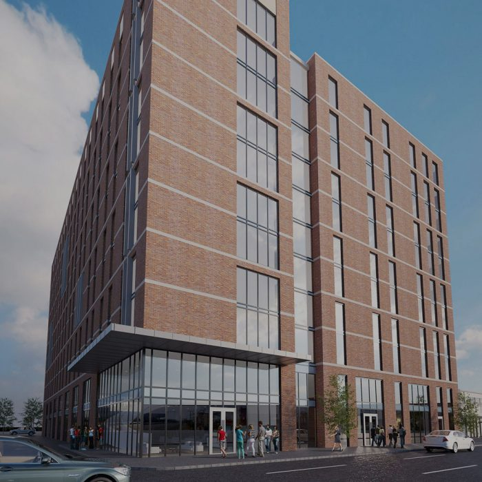 Patton Developments LLP Proposed student accommodation, Great Patrick Street, Belfast