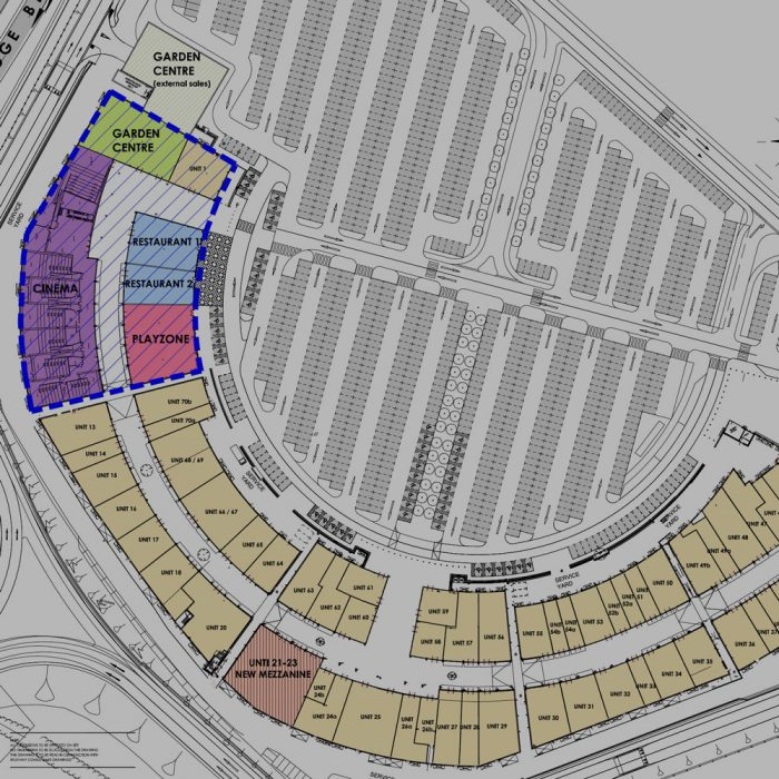 West Register (RBS), Proposed new mixed use masterplan for the existing Factory Outlet Centre, Banbridge