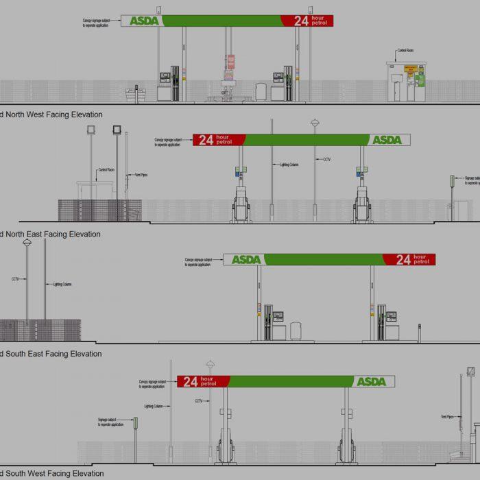 ASDA Stores, Proposed new petrol filling station, Strabane