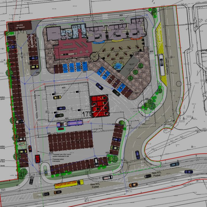 Moorefields Contracts, Proposed new petrol filling station and shop, Belfast International Airport, Antrim
