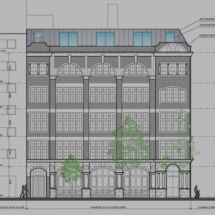 Killultagh Estates, Proposed additional floor, Alfred House, Alfred Street, Belfast
