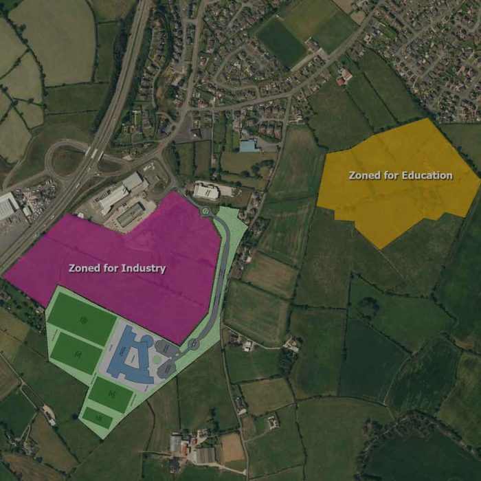 South Eastern Education and Library Board, Proposed new high school, Quillyburn, Dromore