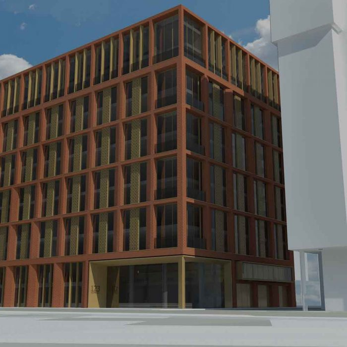 Rocktree Group, Proposed student accommodation, 123 York Street, Belfast