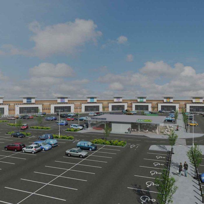Kelvin Properties, Proposed new restaurant/coffee pods, Riverside Retail Park, Coleraine