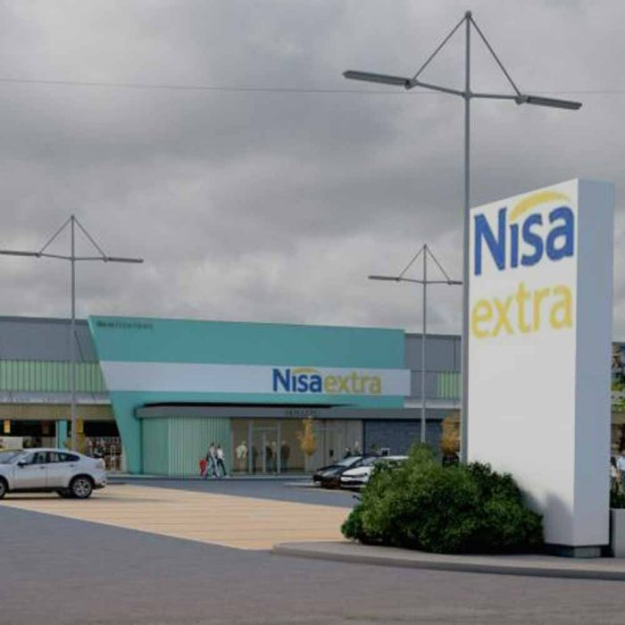 Proposed major extension to existing NISA superstore, Rathfriland