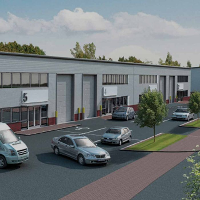 Lotus Group, Proposed trade counter units, Bridgewater Park, Banbridge