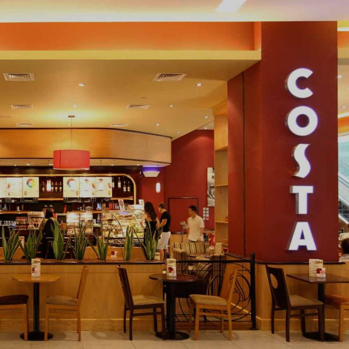 Costa Coffee pods/shops